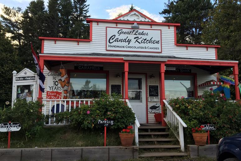 Minnesota: Great!Lakes Candy Kitchen, Knife River