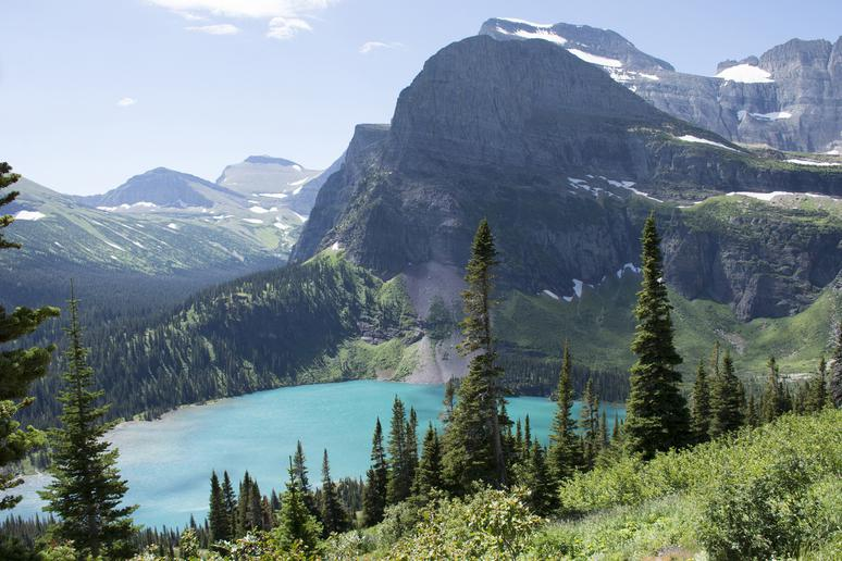4. Glacier National Park, Montana
