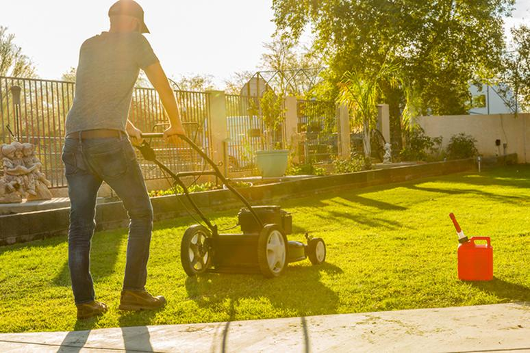 Mowing and hearing loss
