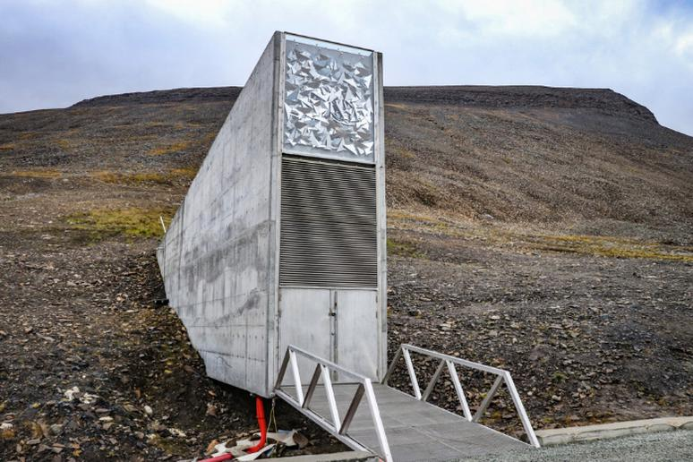 The Svalbard Global Seed Vault, Norway