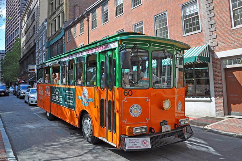 Massachusetts – Boston Old Town Trolley Tour