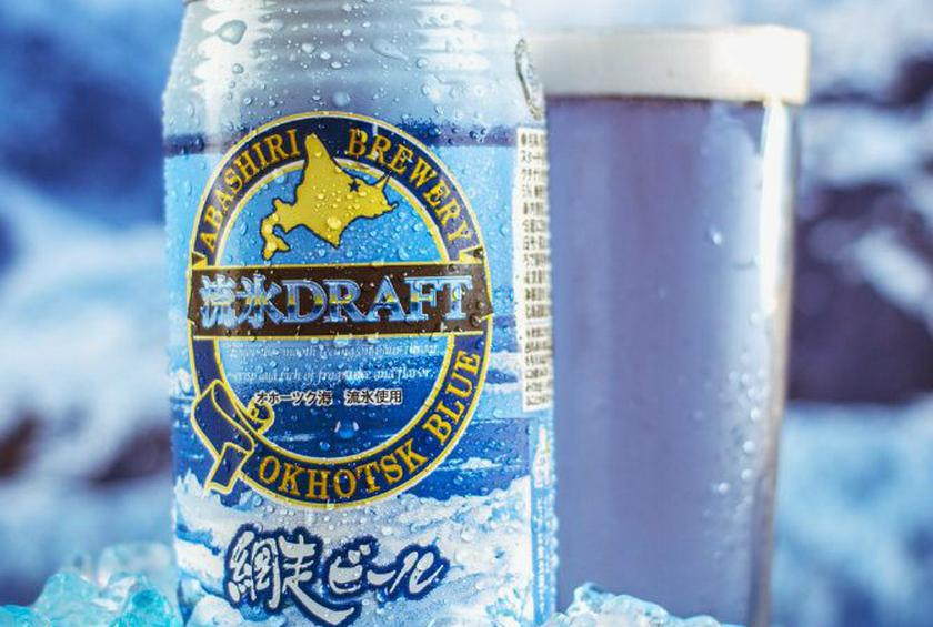 This Naturally Blue Beer is Made with Melted Icebergs, Seaweed