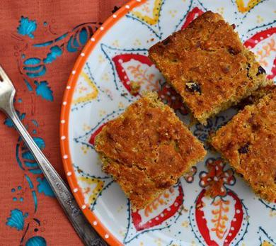 Vegan Lemon-Cranberry Cornbread