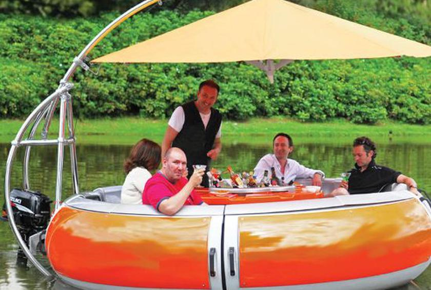 $50,000 barbecue boat for those who love grilling