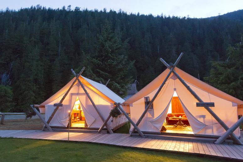 Clayoquot Wilderness Resort (Clayoquot, Canada)