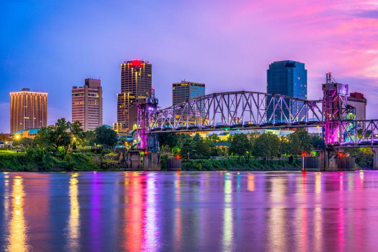 1. Little Rock, AR