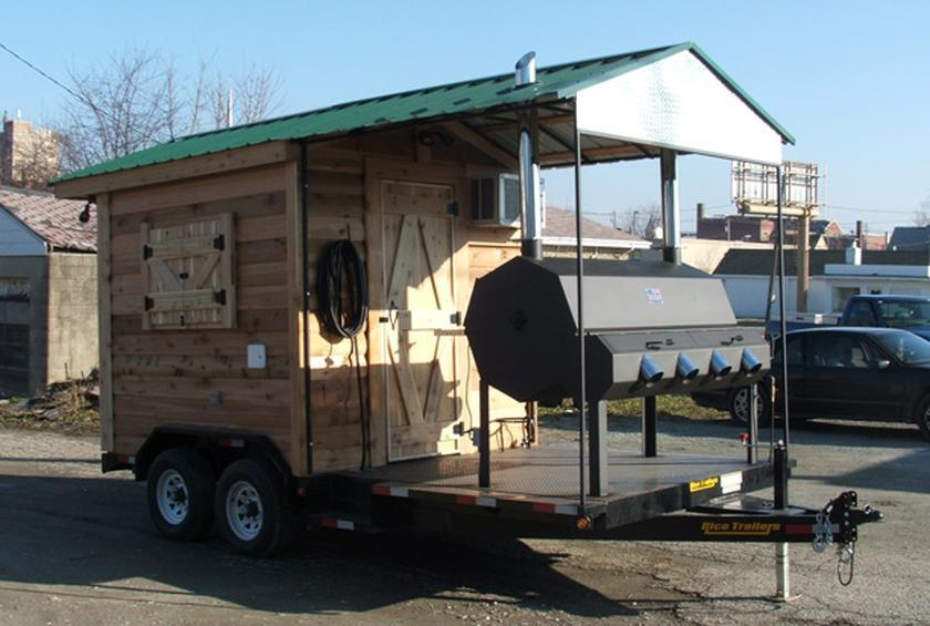 Bbq Shed Concession Trailer 24 650 From 15 Of The Most