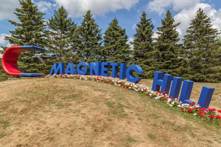 Magnetic Hill, Moncton, New Brunswick