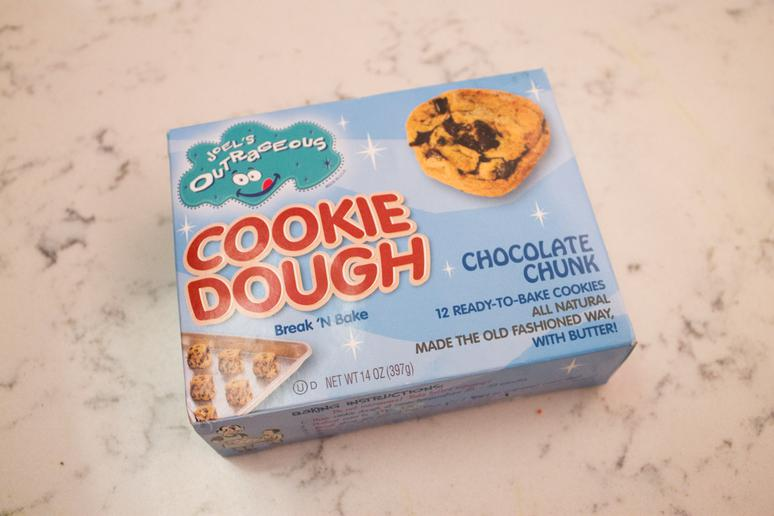 #1 Joel's Outrageous/Fatboys' Outrageous Chocolate Chunk Cookie Dough