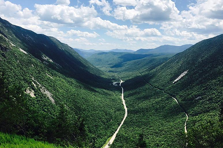 New Hampshire - Mount Willard Trail
