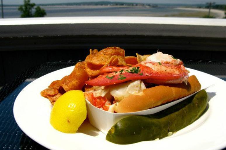 The Chart Room's Lobster Roll