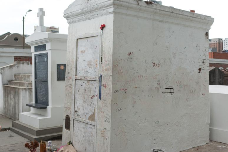 Grave of Marie Laveau, the Voodoo Queen (New Orleans, Louisiana)