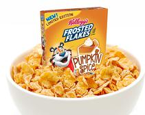 Pumpkin Spice Frosted Flakes