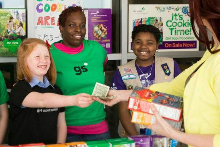 Girl Scout Cookie Pop-Up Shops in New York City