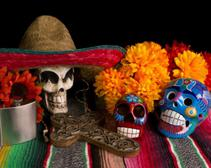 The traditions of Mexico's Día de los Muertos are many and colorful.
