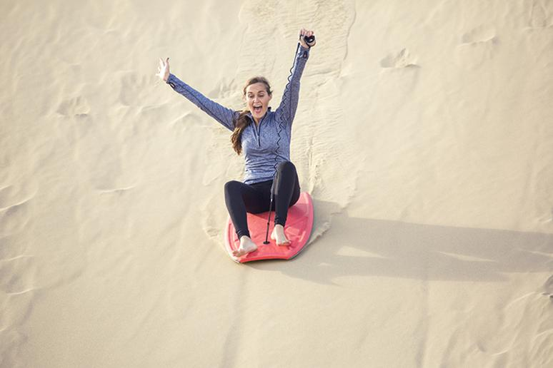 Try sandboarding at Great Sand Dunes National Park, Colorado