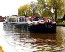 Experience the Dutch Countryside on a Luxury Floating Hotel