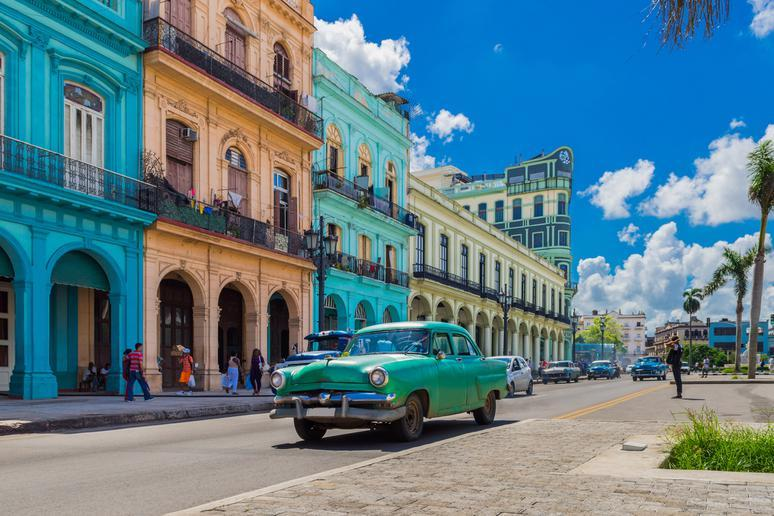 Ride in a classic car in Havana