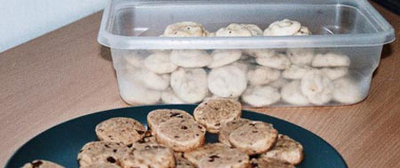 Mexican Wedding cookies (back)