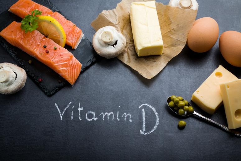 Best: Food with Vitamin D