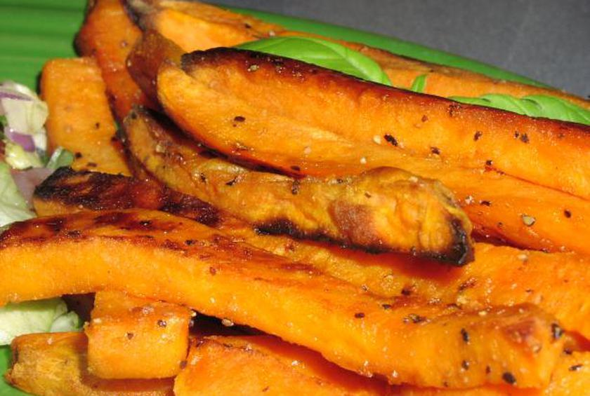 Ina Gartens Baked Sweet Potato Fries By Sharon123 At Wwwfoodcom