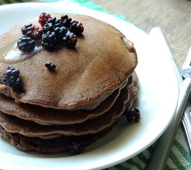 Chocolate Pan Cakes