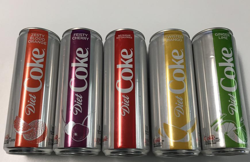 We Tried the New Diet Coke Flavors, and Here's What We Thought