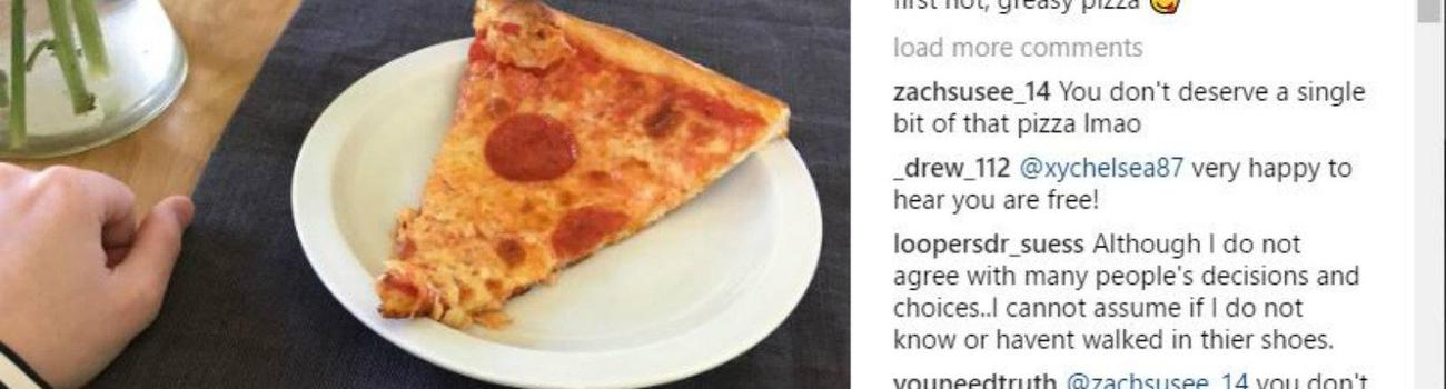 Chelsea Manning's pizza