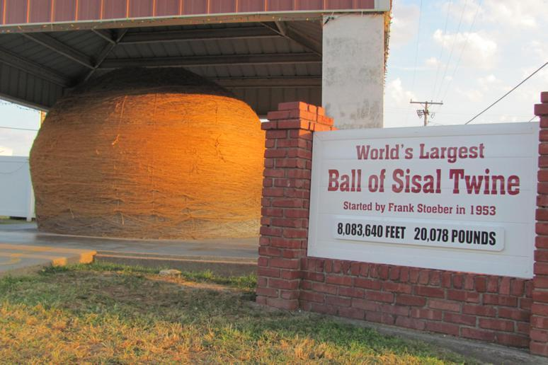 World's Largest Ball of Twine (Cawker City, Kansas)