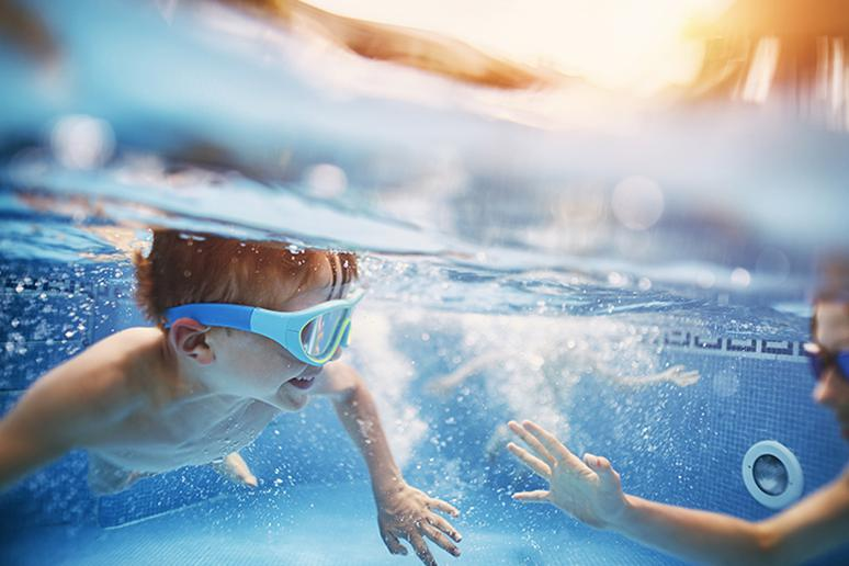A common cause of drowning is the involuntary gasp reflex