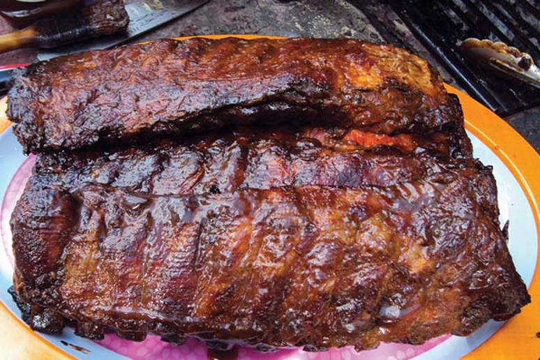 Hector Rivera's Charcoalholics Spicy Coconut and Rum Ribs