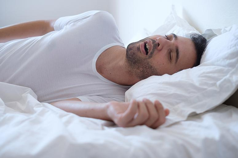 Snoring keeps people awake at night