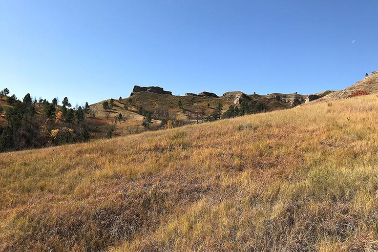 Nebraska - Norwesca Trail in Chadron State Park
