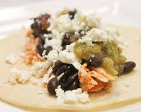 Cholula Chicken Tacos with Feta
