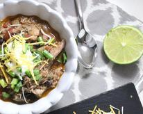 Slow Cooker Mexican Pulled Pork Chili