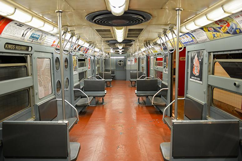 NY Transit Museum in Brooklyn, New York