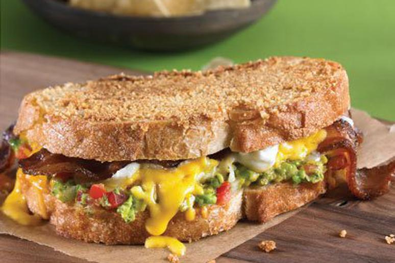Chips and Guacamole Grilled Cheese