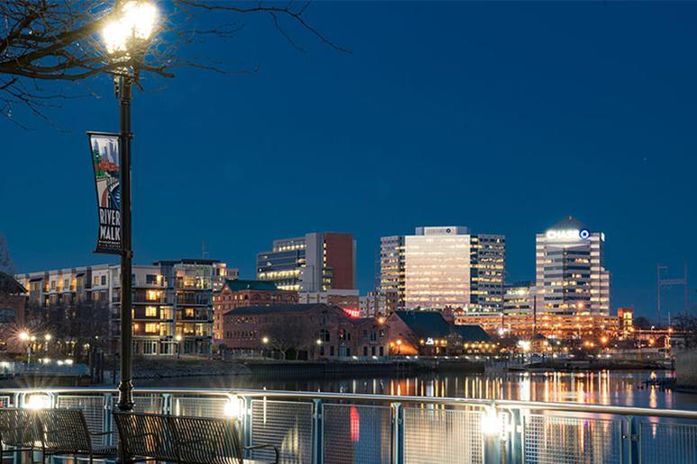 Delaware: Docklands Riverfront (Wilmington)
