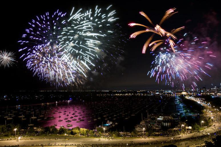 marque célèbre gamme de couleurs exceptionnelle marques reconnues The Best Places to See Fireworks on Gallery - The Active Times