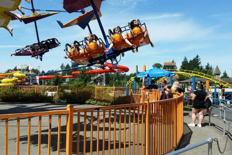 Washington - Wild Waves Theme & Water Park in Federal Way