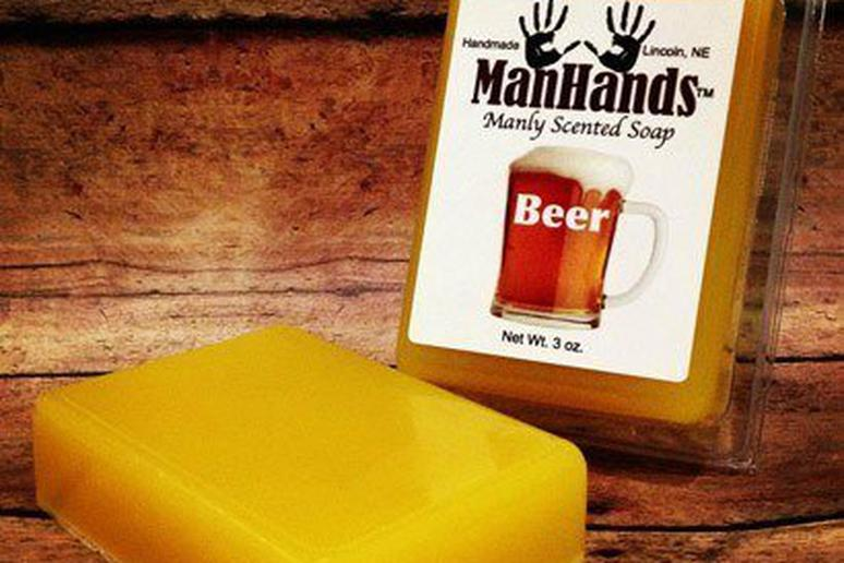 Beer-Scented Soap