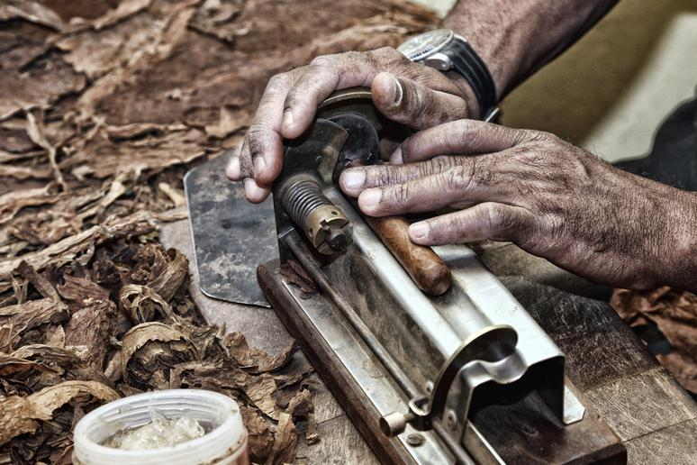 Learn how to roll a cigar in Cuba