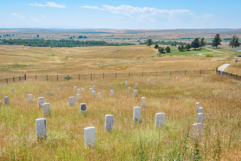 Montana: Little Bighorn Battlefield National Monument