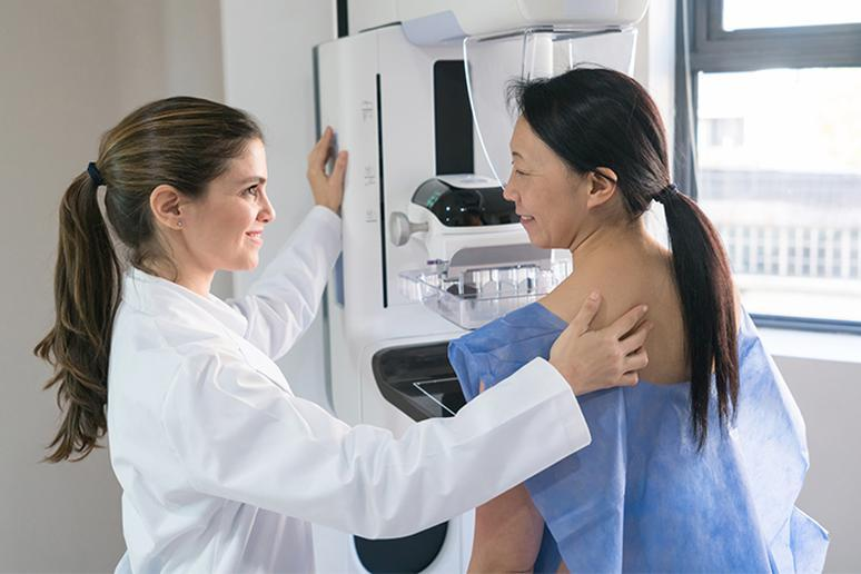 You shouldn't delay getting a mammogram