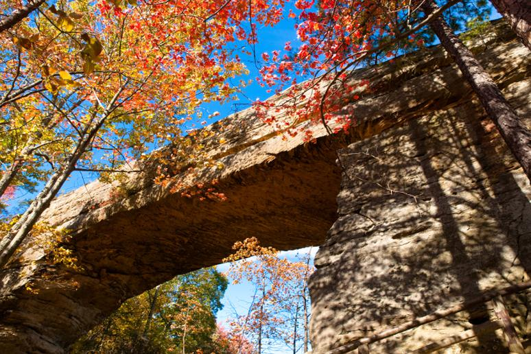 Kentucky - Natural Bridge and Hood Branch Trail