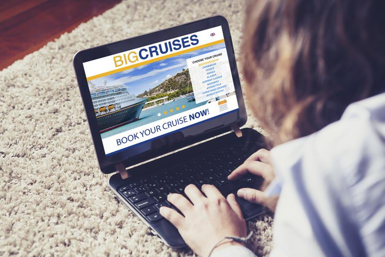Cruise bookings are cheaper