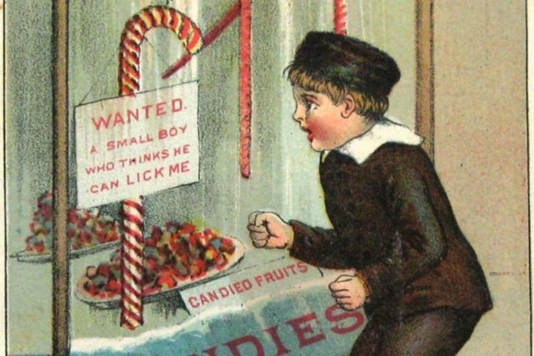 Early Candy Canes Were Very Difficult to Produce