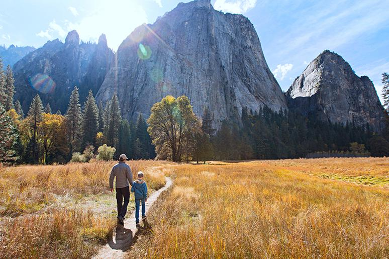 To reconnect with nature: Go hiking in national parks