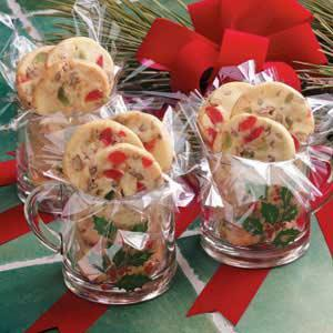 Cherry Pecan Icebox Cookies By Taste Of Home S Holiday