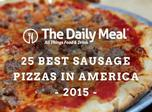 America's best sausage pizzas
